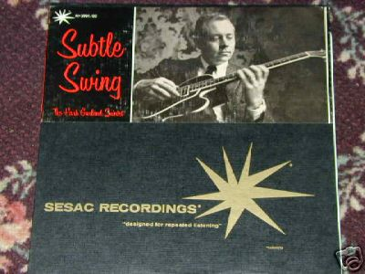 HANK GARLAND Subtle Swing RARE JAZZ SESAC Gary Burton @