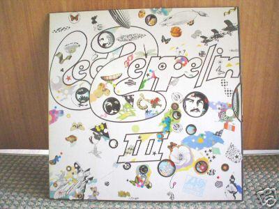 LED ZEPPELIN - III (3) UK 70 ORIG LP EX++++