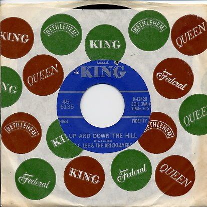TC Lee & Bricklayers-King-Up & Down-RARE Northern Soul