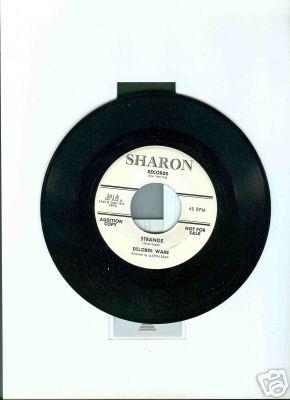 RARE R & B DANCER- DELORES WARE- STRANGE- SHARON- MINT