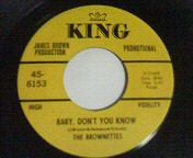 THE BROWNETTES -Baby Don`t You Cry-Sister Funk 45 Dapps