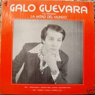Galo Guevara Y Su Orquesta Mitad Del Mundo Rare Salsa ?