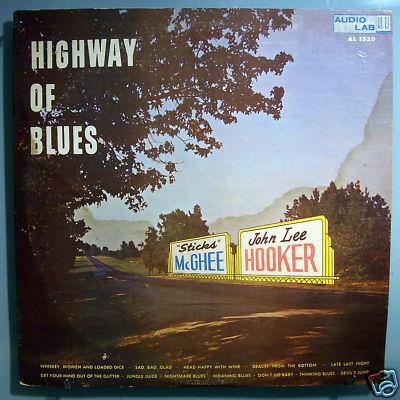 JOHN LEE HOOKER HIWAY OF BLUES ULTRA-RARE ORIG KING LP