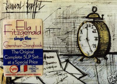 ELLA FITZGERALD GERSHWIN SONGBOOK VERVE 5 LP BOX SEALED