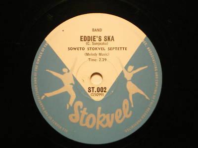SOWETO STOKVEL SEPTETTE 1966 South African ska  E+