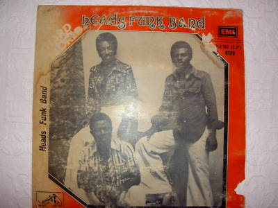 """""""HEADS FUNK BAND""""AFRO FUNK:""""THE RAREST AFRO LP"""