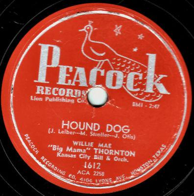 "CLASSIC WILLIE MAE ""BIG MAMA"" THORNTON  78  ""HOUND DOG"""