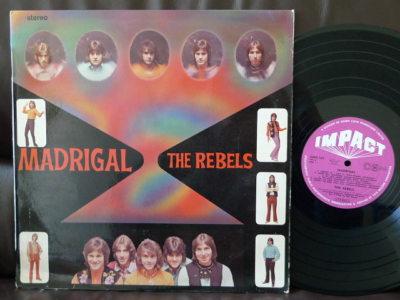 THE REBELS LP Madrigal NZ PSYCH GARAGE POP ROCK BEAT