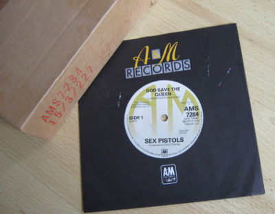 "Sex Pistols - God Save The Queen Original 1977 A&M 7"" W"
