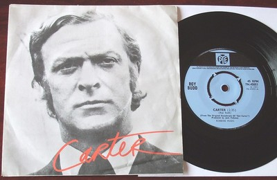 """ROY BUDD CARTER GET CARTER UK SOUNDTRACK 7"""" SINGLE PYE MICHAEL CAINE COVER NM"""